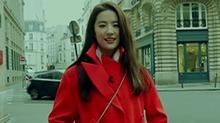 和女神刘亦菲闲游巴黎