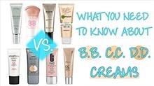 【抹茶美妆】BB、CC、DD霜到底有什么区别?