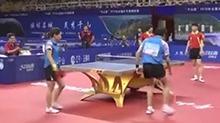 【叽里呱啦体育派】刘诗雯林高远胜丁宁马龙 首夺全锦赛混双冠军