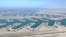 沙漠奇迹!海水注入科威特 秒变威尼斯水城