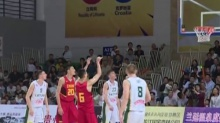 郴州:国际青年男篮亚特拉斯系列赛汝城开赛