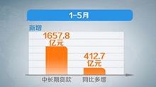 """1—5月湖南金融运行保持平稳增长 存贷款余额呈""""双增""""态势"""