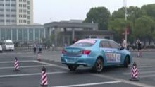 益阳南县:环洞庭湖国际新能源汽车拉力赛进行预演