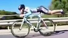 骑车下坡如何跑得更快?看我的!