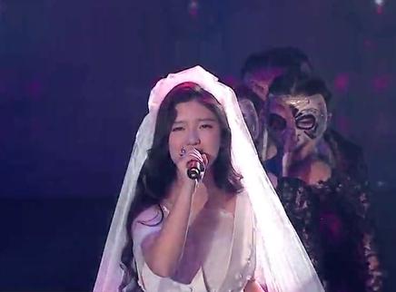 2016超女总决赛7进6:方圆美丽绽放展现完美舞台魅力