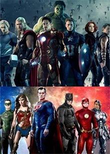 《正义联盟》遇上《复仇者联盟》 超级英雄集结各显神通