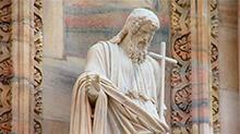 中世纪不再有裸体雕塑