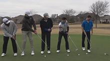 高尔夫还能这么打?!牛人花式玩转高尔夫