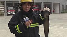 """妙龄女艺人变""""火人"""" 是丝袜还是打火机惹祸?"""