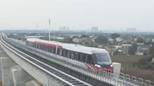 """长沙磁浮列车调试不停步 24小时""""在线"""""""