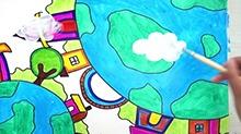 5068网儿童画第32期:亲爱的地球妈妈