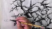 5068网国画课程第38期:山水2——范画构图