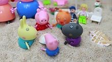 【<B>小猪</B><B>佩奇</B>玩具故事】<B>小猪</B><B>佩奇</B>一家到海边度假
