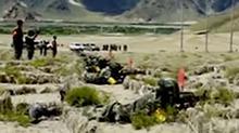 西藏:海拔4000米 特战队员<B>挑战</B><B>极限</B>