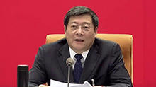 湖南代表团举行第一次全体会议 杜家毫主持并讲话