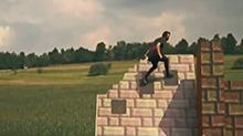 创意玩法:跑酷达人体能惊人 玩转<B>真人</B>版街机<B>游戏</B>