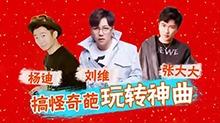 2017湖南卫视元宵喜乐会 张大大刘维搞怪奇葩玩转神曲