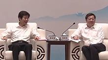 高云龙与民营企业的嘉宾代表座谈