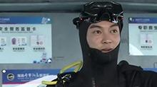 杜江潜水初体验水下寻宝