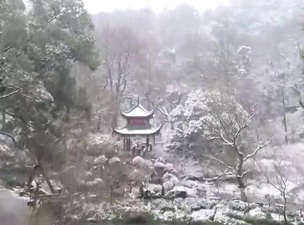 省内大部分地区明现雪后初晴