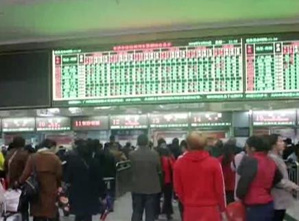 新列车运行图1月5日启用