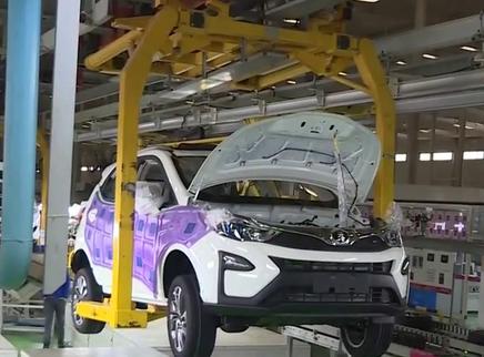 2020年湖南新能源车产能将达50万辆