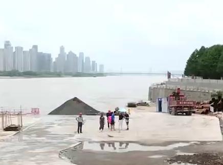 长沙湘江东岸防洪综合改造收尾