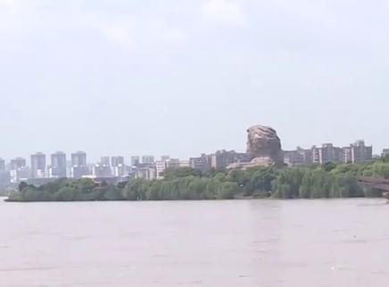 二次洪峰顺利过境湘江长沙段
