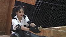 勇敢少女杨超越密室初体验