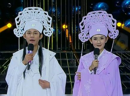 百变大咖秀20121129期:何炅谢娜演绎梁祝化蝶秀恩爱