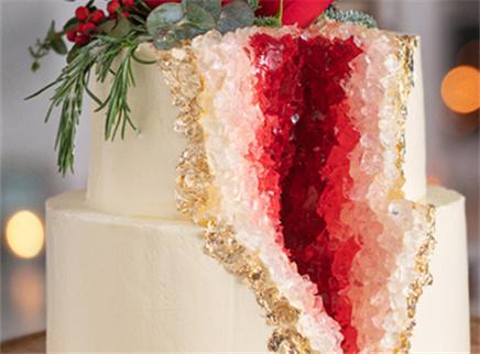 年度最做作水晶洞蛋糕