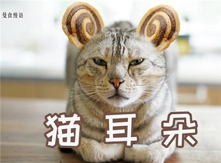学会这零食猫咪再不会失去耳朵
