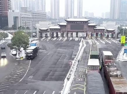 湖南高速元旦假期总车流量232万辆