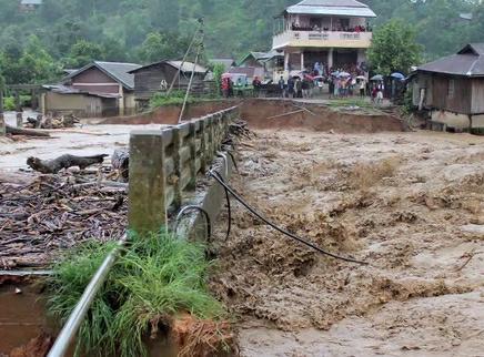 遇到洪涝灾害该如何避险?
