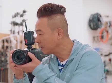 陈小春为应采儿拍摄孕照