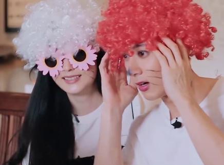 第33期:吴尊丽吟尝试搞怪妆容