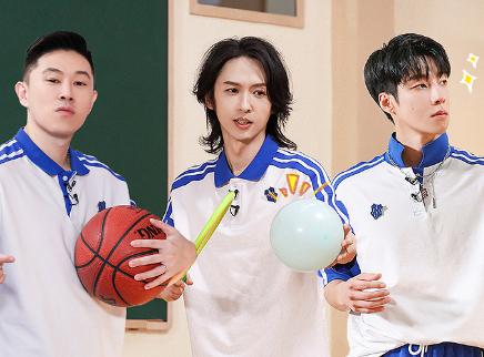哥少第10期:张淇欧阳靖篮球赛