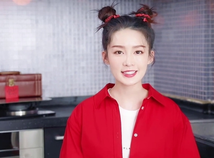 李沁哪吒头教学汤圆新吃法