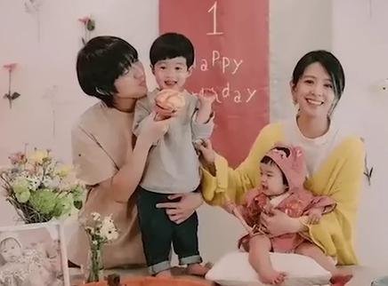 林宥嘉为女儿办生日会